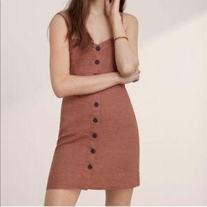 Aritzia Button Dress